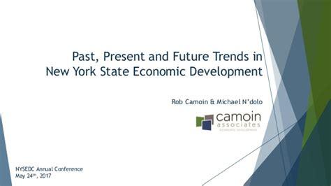 Past, Present, And Future Trends In New York State Economic Developme…