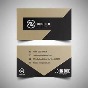 Elegant business card design vector free download for Elegant business card design