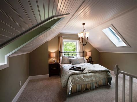 Dazzling Attic Bedroom Design Ideas