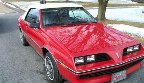 1983 Pontiac Sunbird Convertible