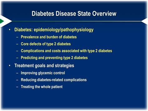 type  diabetes disease state overview powerpoint