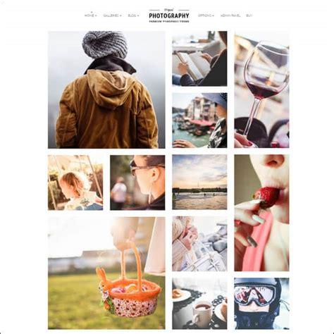 photography website templates  wordpress