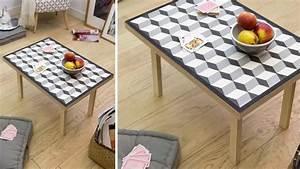 Set De Table Carreaux Ciment : table basse avec carreaux de ciment diy ~ Melissatoandfro.com Idées de Décoration