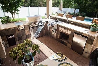 Outdoor Kitchen Kitchens Outside Florida Coastal Installation