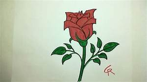 Sweet Pretty Rose : learn how to draw pretty rose in bloom icanhazdraw youtube ~ A.2002-acura-tl-radio.info Haus und Dekorationen
