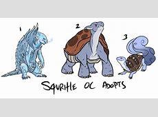 Pokemon OC adopts Squritle line REPOST — Weasyl