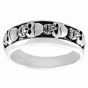 mens skull ring skull jewelry for father39s day With skull wedding rings for men