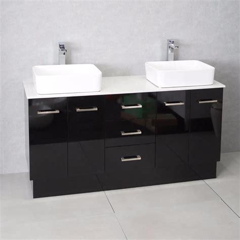 ebay bathroom vanities australia bathroom vanity cabinet unit black 1500mm top