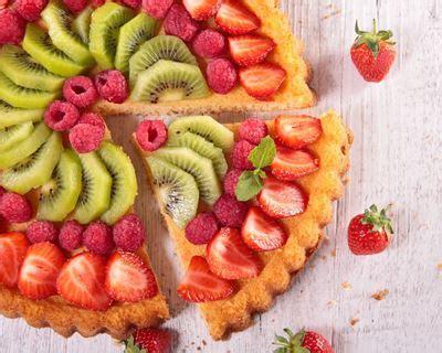cuisine sans gluten sans lait recette tarte aux fruits frais facile rapide
