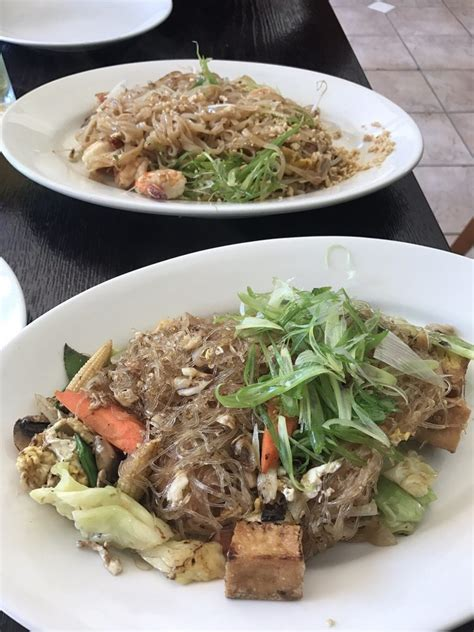 sen cuisine delicious gf pad woon sen and authentic pad yelp