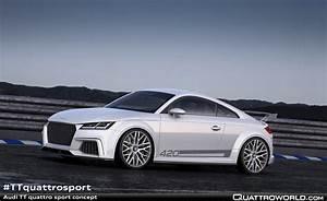 Audi Tt Quattro Sport : the audi tt quattro sport concept show car quattroworld ~ Melissatoandfro.com Idées de Décoration