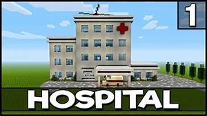 Minecraft  How To Build A Hospital
