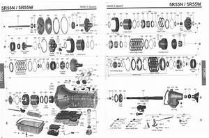 Transmission Repair Manuals 5r55s  5r55w  N