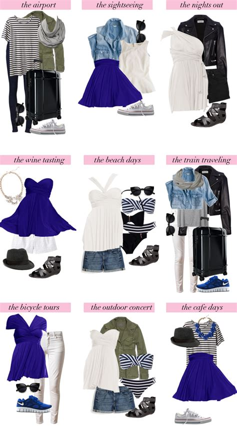 Travel Light What To Pack For Europe  Henkaa Blog