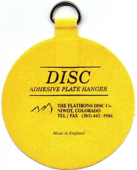 original invisible disc adhesive plate hangers ebay
