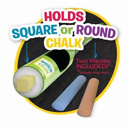 Chalk Sidewalk Holder Holders Walkie Toy Stand