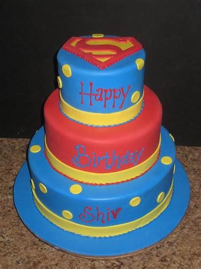 Superman Cake Cakes Topper Birthday Decoration Cupcakes