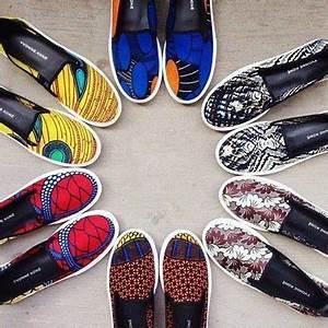 Pagné De Basket : yvonne kon chaussures pagne tissu wax cool wax pinterest mode africaine chaussure et ~ Teatrodelosmanantiales.com Idées de Décoration