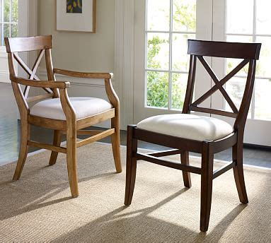 Pottery Barn Aaron Chair Cushion by Aaron Upholstered Chair Pottery Barn