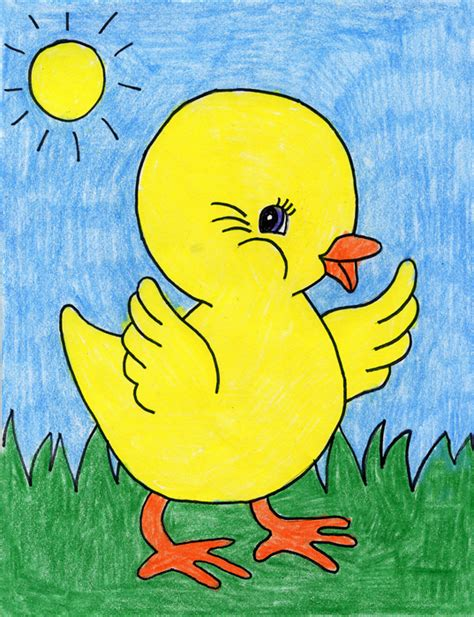 baby chick art projects  kids