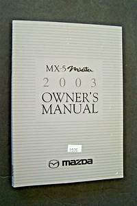 Details About 2003 03 Mazda Mx