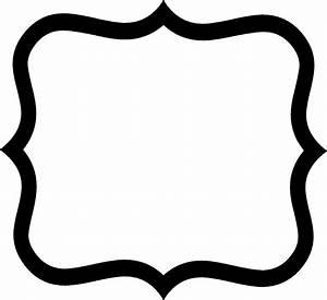 Fancy Label Shape Clip Art | Creative Entertainment and ...