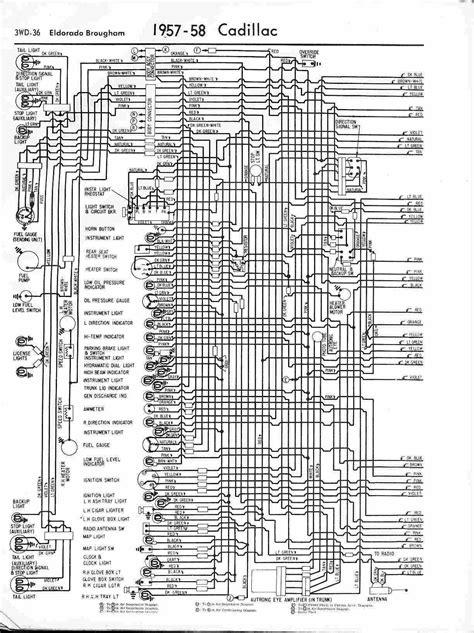 1980 Cadillac Fleetwood Wiring Diagram by 1957 1958 Four Car Wiring Diagram Circuit Diagram World