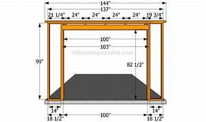 Door Frame  Garage Door Framing Instructions