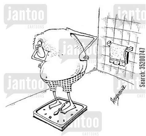 weighing scales cartoons humor  jantoo cartoons