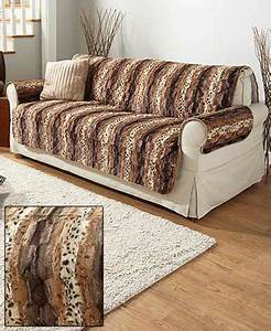 faux fur animal print furniture covers ltd commodities With furniture animal covers