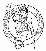 Celtics Coloring Boston Basketball Pages Nba Bruins Printable Blazers Trail Court Portland Teams Isaiah Team Colouring Pelicans Orleans Sports Getcolorings sketch template