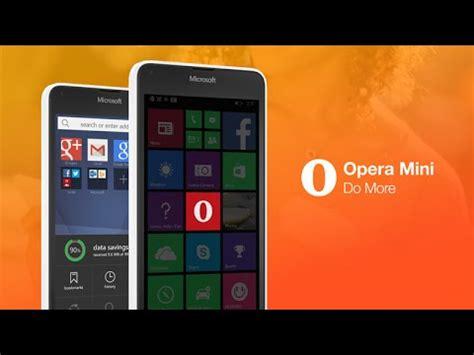 introducing the new opera mini for windows phone