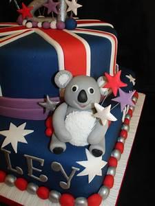 21St - Australian Theme Cake - CakeCentral com
