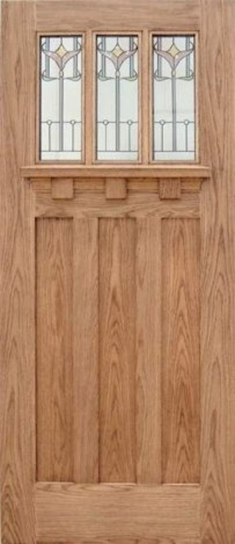 tuscany tulip oak triple glazed external door