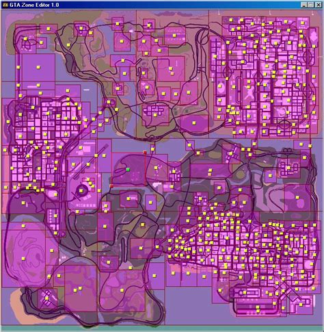 editor gta zone mod andreas san zones mods tools gtainside screenshots cars downloads