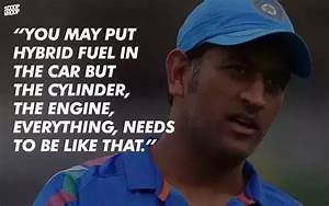 Why do you love... Dhoni Retires Quotes