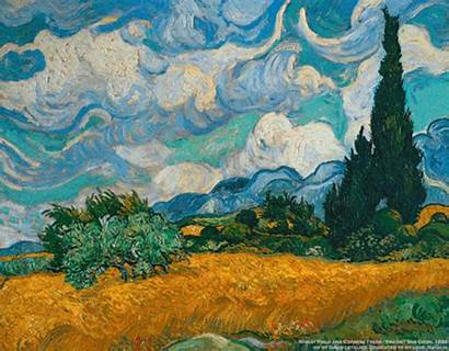 Van Gogh Animated Clipart Gifs Moving Trippy