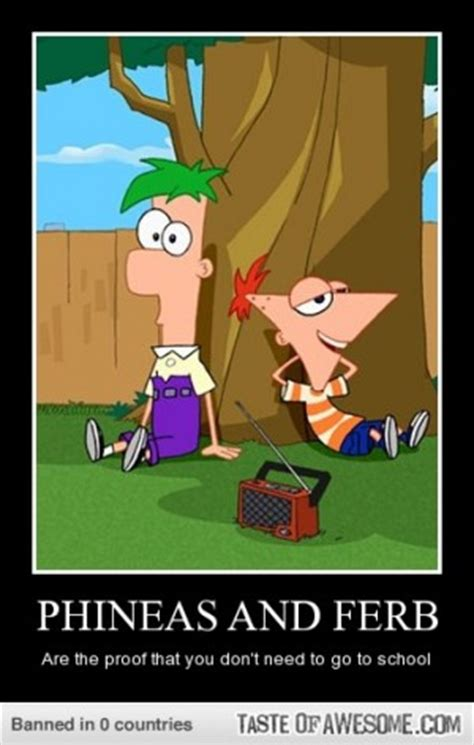 Phineas And Ferb Memes - phineas and ferb funny quotes quotesgram