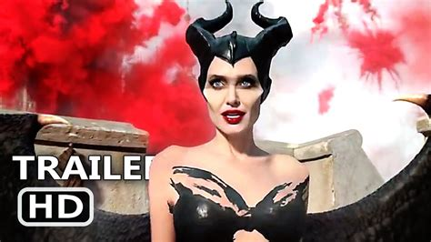 maleficent  official trailer  angelina jolie