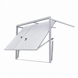 Montage Porte De Garage : porte de garage basculante rainures verticales avec ~ Dailycaller-alerts.com Idées de Décoration