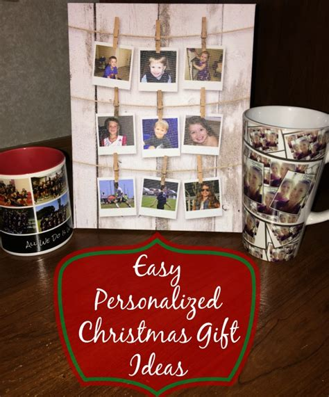 make personalized christmas gifts with walmart photo center