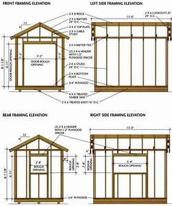 8 U00d712 Storage Shed Plans  U2013 Detailed Blueprints For Building