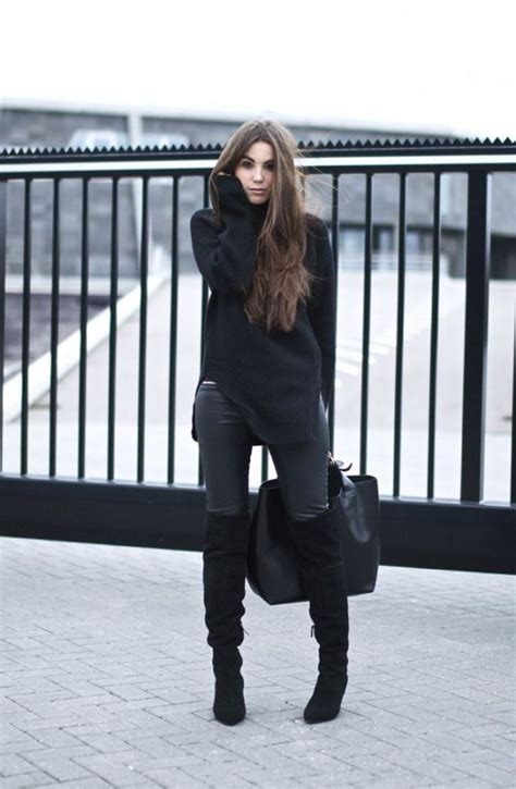 Over the Knee Boots Outfits - All For Fashions - fashion beauty diy crafts alternative health
