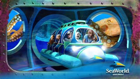seaworld san diego unveils aquarium attraction that features 5 rides the san diego union tribune