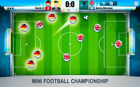 Mini Football Championship Mod Android Apk Mods