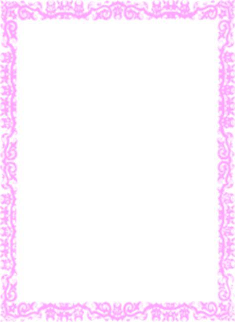 border pink clip art  clkercom vector clip art