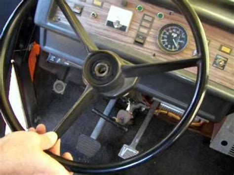 Boat Horn Removal by Removing The Steering Wheel Wmv
