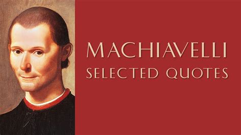 Quotes By Profound Quotes By Machiavelli