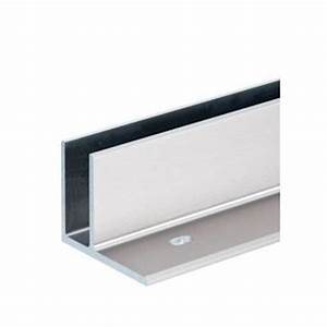 Profilé Inox En U : cn2200000 profil bas bross de 6m pour montage plat ~ Dailycaller-alerts.com Idées de Décoration