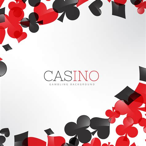 Card Background Casino Background With Cards Symbols